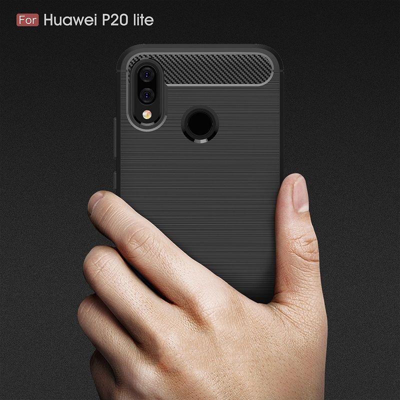 2018 neue Handy-Fälle für Huawei P20 Lite Luxuxcarbon-Hochleistungsfall für Huawei P20 Lite Abdeckung Freies Verschiffen