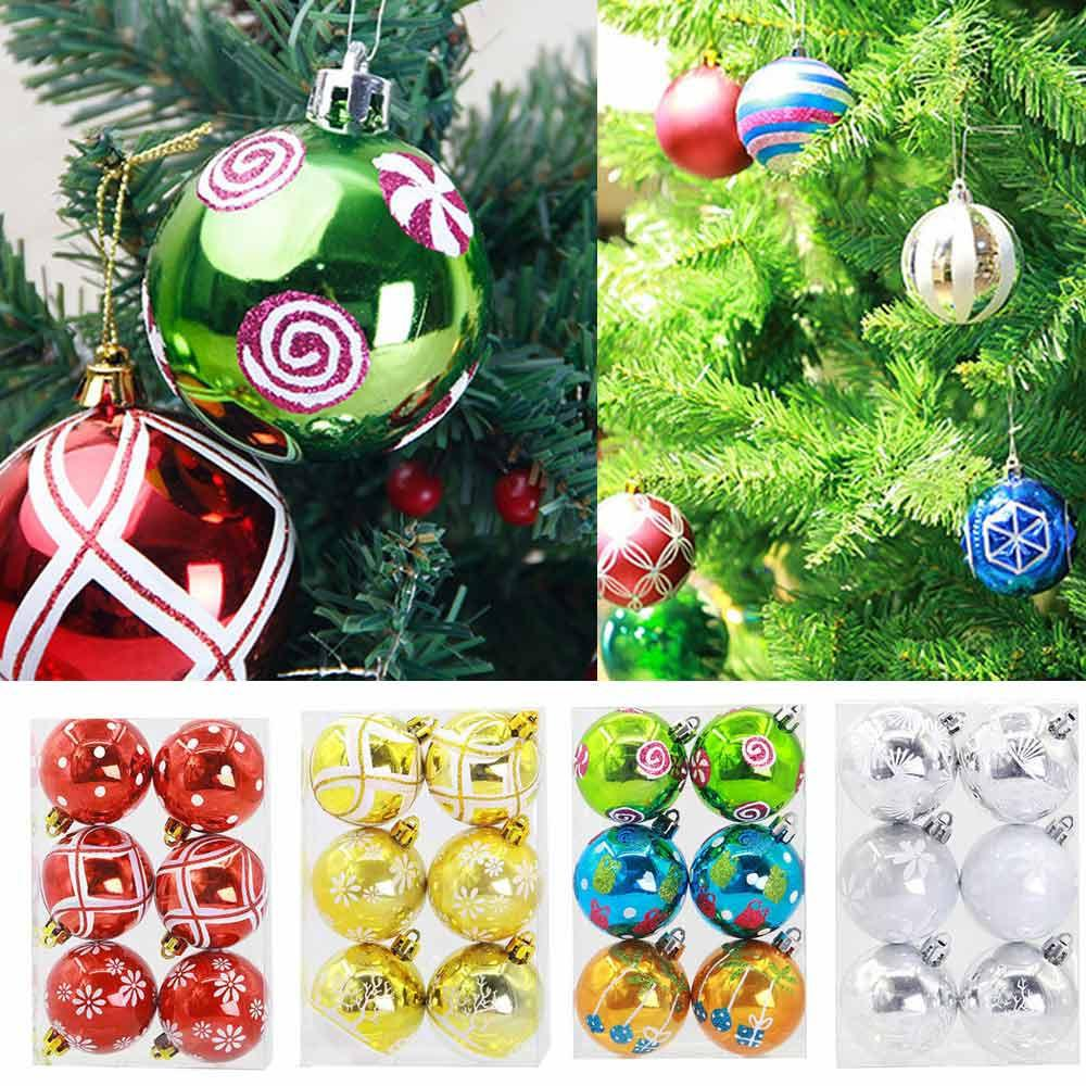 Creative Christmas Tree Decorations Balls Home Decor Diy Christmas 6