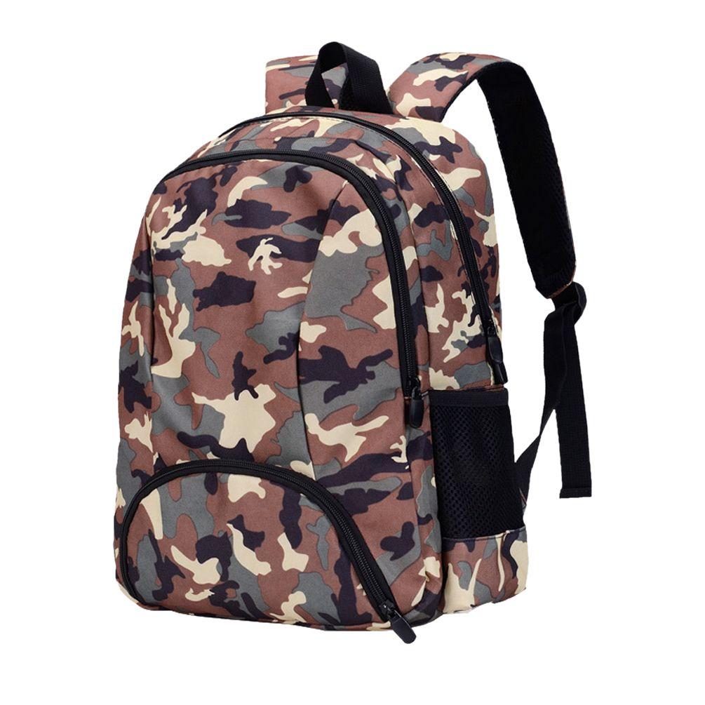 b93af54bb8 Vbiger Unisex Student Backpack Nylon Children School Bag Cartoon Book Bags  Camouflage Shoulders Bag For Primary School Students Back Pack Cute  Backpacks ...