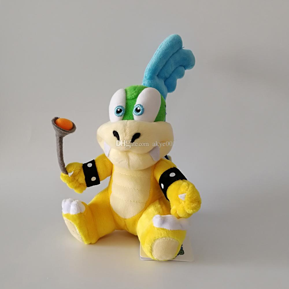 Hot Sale 18-22cm Super Mario Koopalings Larry Iggy Ludwig Wendy Roy Morton Lemmy Koopa Stuffed Toys