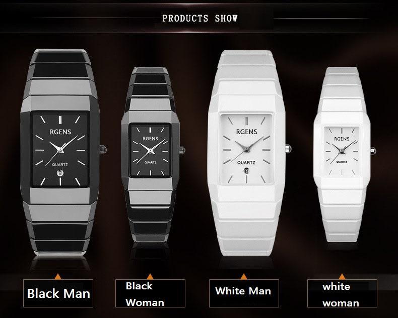 da0fc7672caa New Lovers Couple Wrist Watch Ultrathin Watches Luxury Brand Fashion ...
