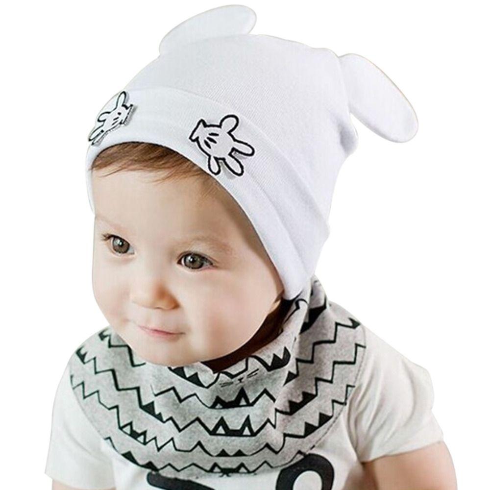 Hot Sale Newborn Baby Kids Cute Mouse Ear Crochet Outfits Beanies Hat 2018  Girls Boys Unisex Photography Props Caps Skullies UK 2019 From Wudun 1829669e9932