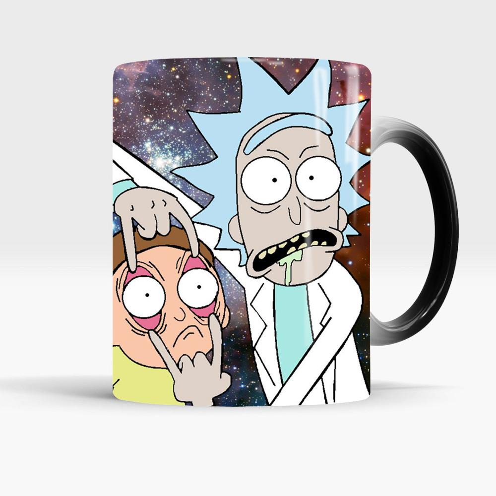 Cup And Color Gift Yuour Kids Mug Moring Coffee Milk Magic Best For Mugs Rick Changing Children Morty 1FKJclT3