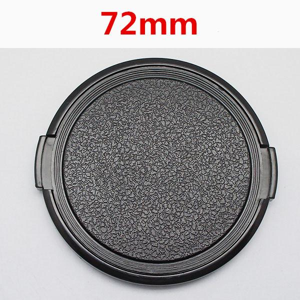 Wholesale 30pcs/lot 72mm Camera Lens Cap Protection Cover Lens Front Cap for S C N 72mm DSLR free shipping