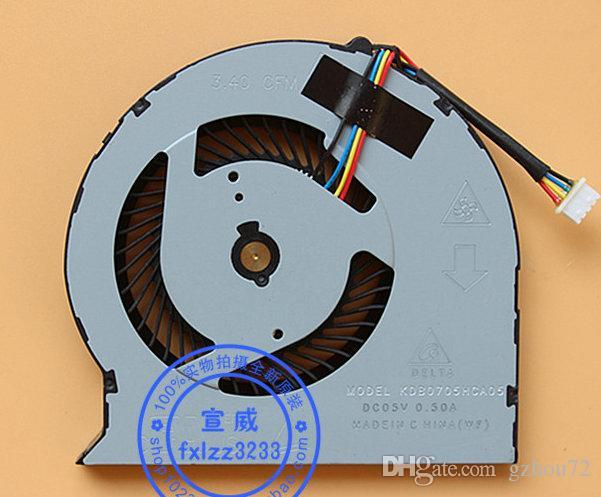 Nuovo originale Delta 3.40 CFM MODELLO KDB0705HCA05 DC05V 0.50A Ventola di raffreddamento laptop
