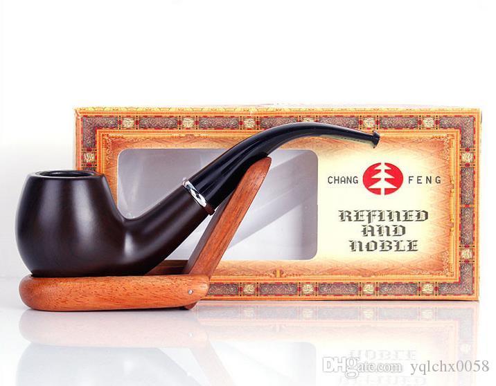 Hölzernes Rauchen des Harzrohrnachahmung Holzrohreiseneimerholzes