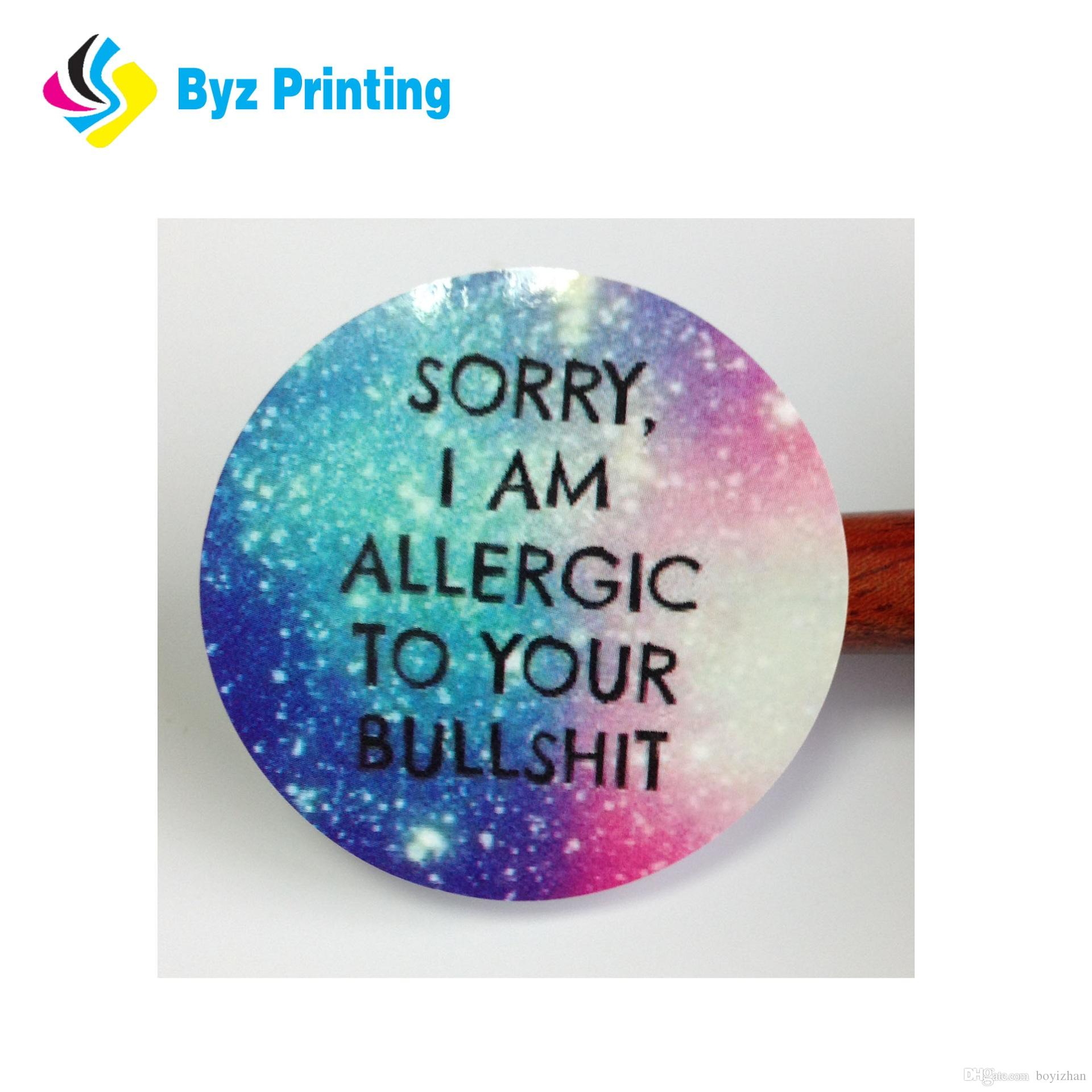 Wholesale custom vinyl stickers printing adhesive vinyl car decal for advertisement uk 2019 from boyizhan uk 0 04 dhgate uk