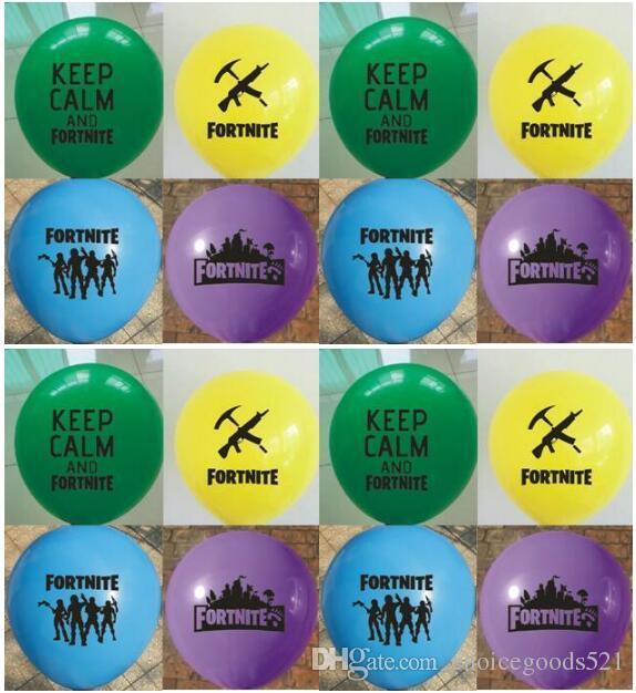 Compre globo de fortnite globos de l tex de fortnite for Decoraciones infantiles para ninos