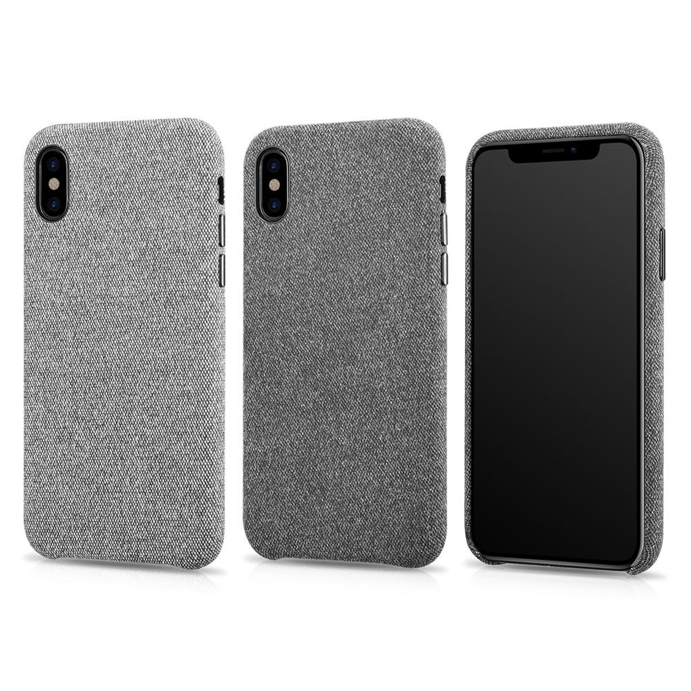 new product b6d72 84ed5 XOOMZ Hard Case For iPhone X Cloth Pattern Back Cover Protective Phone  Cases With Tracking Number Fashion