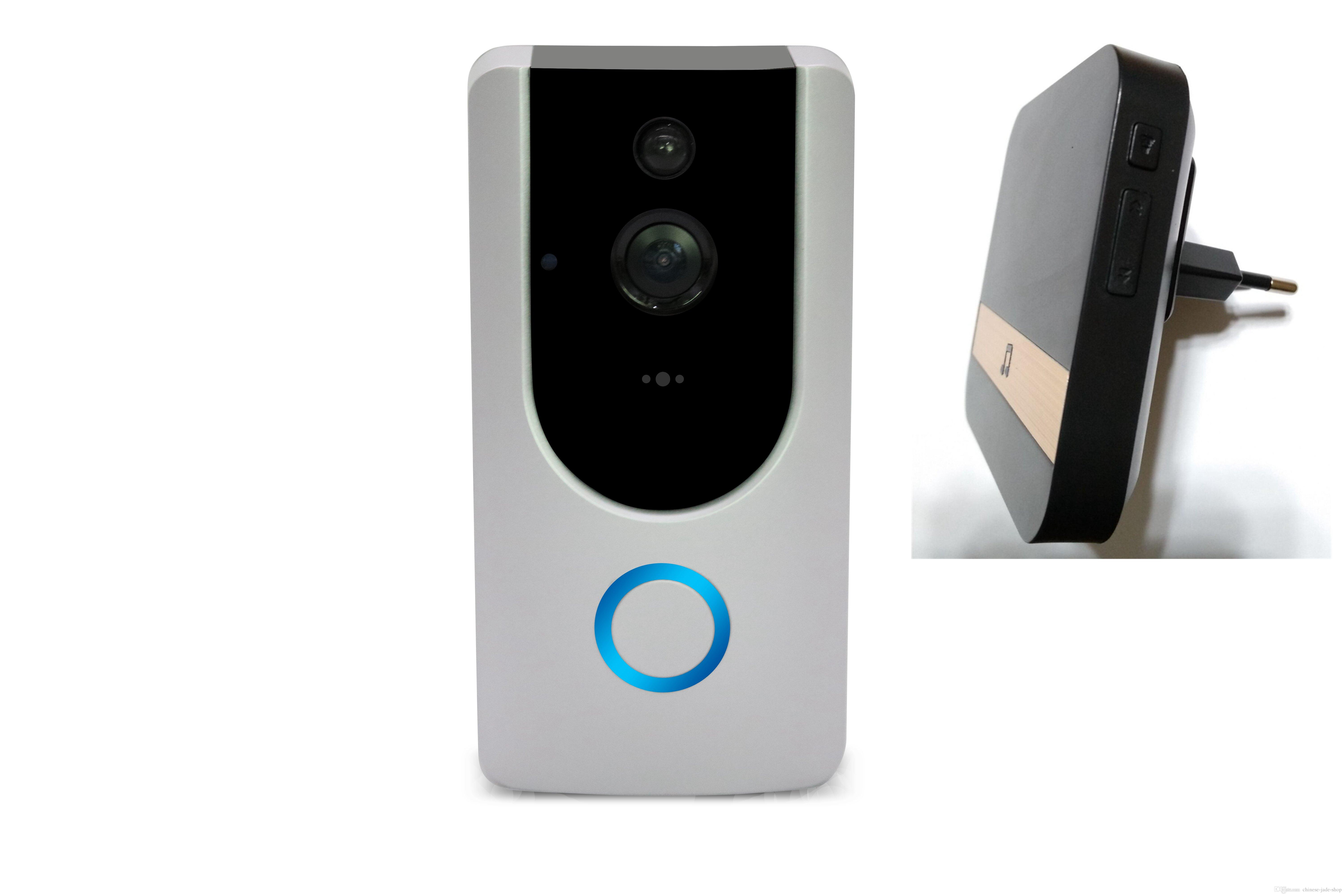 2019 m2 720p pir wireless wifi video doorbell 166 wide degree2019 m2 720p pir wireless wifi video doorbell 166 wide degree intercom pir motion detection night vision alarm security with indoor chime from chinese jade