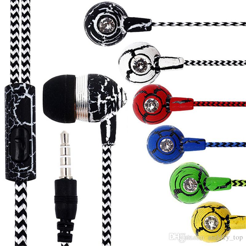 New SF-A19 Universal Mini In-Ear Sport Stereo Earphone Headphone With Mic For Samsung Xiaomi HTC Mp3 Mp4 Earphone with retail package