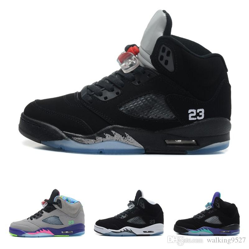 ee0ba3d3e6dc97 New 5s Men Basketball Shoes Military Motosports Blue Alternate 89 Pure  Money White Cement Royalty Bred Fire Red Black Cat Oreo Sneakers Designer Shoes  Shoes ...