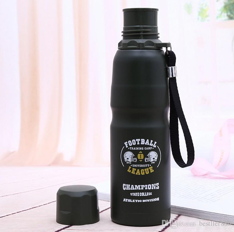 2017 aço Inoxidável grande capacidade de preservação do calor copo ao ar livre garrafa térmica de viagem nova chegada best-seller por atacado