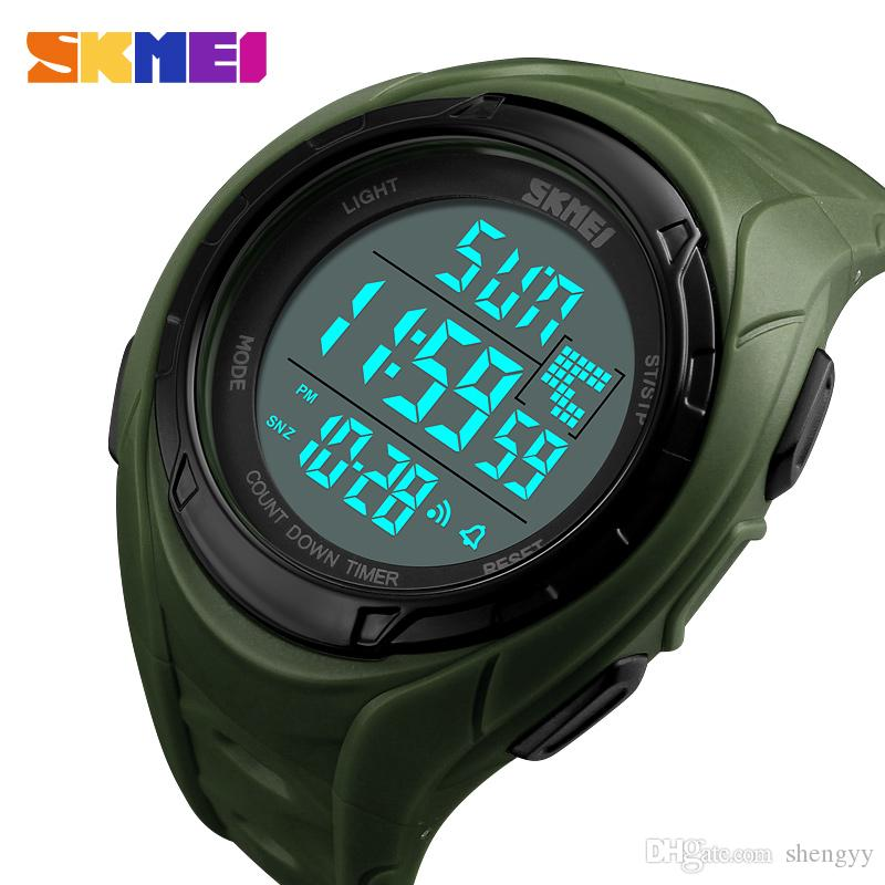 Watches Skmei Brand Led Bracelet Watch Sports Mens Watches Waterproof Calendar Student Wristband Digital Childrens Wristwatch Relogio