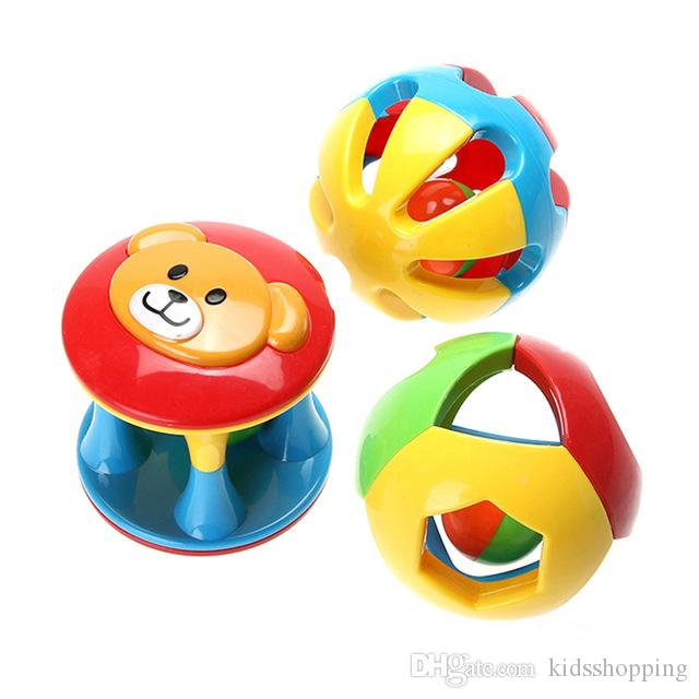 Toys & Hobbies 100% True 3pcs Baby Rattles Toy Fun Little Loud Jingle Ball Ring Jingle Develop Baby Intelligence Baby Toy Gifts Baby & Toddler Toys
