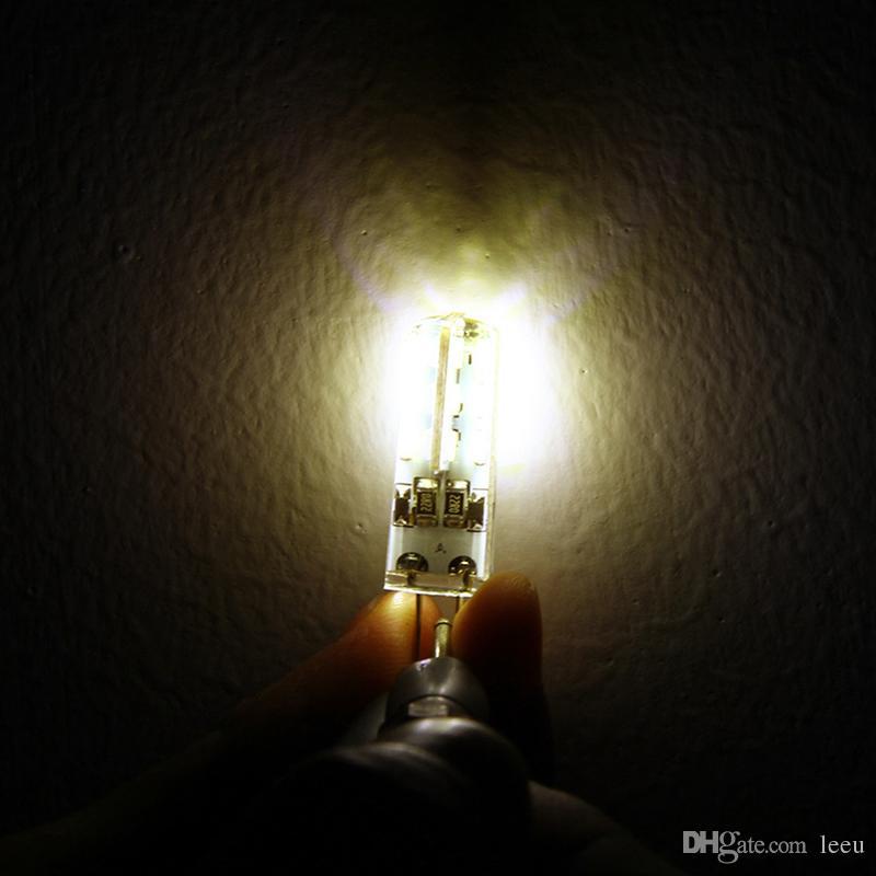 SMD3014 DC 12 فولت 3 واط g4 الصمام مصباح استبدال 30 واط مصباح الهالوجين الإضاءة 360 شعاع زاوية أدى ضوء المصابيح مصباح للشرادي الكريستال