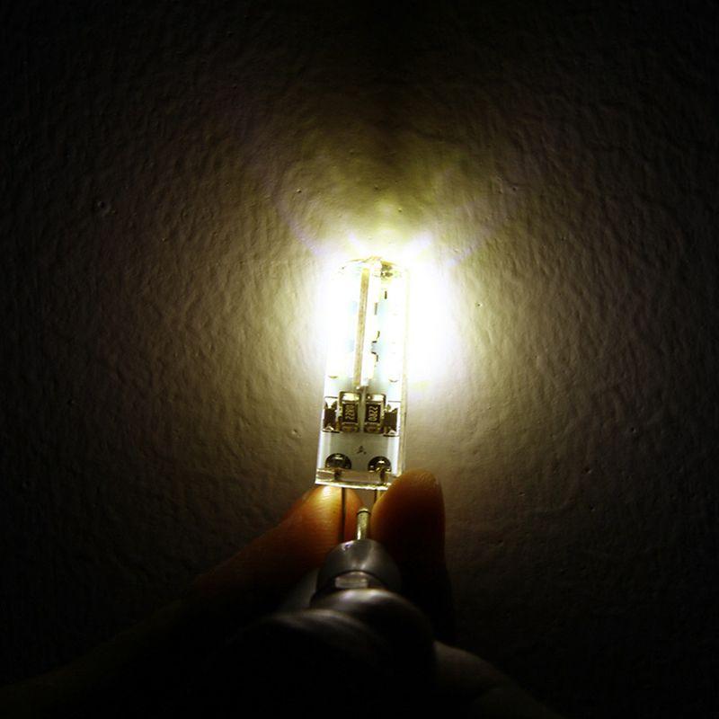 SMD3014 DC 12V 3W G4 Lampada a LED Sostituire lampada lampada alogena da 30W 360 Lampadine a LED angolo del raggio 360 Lampadina lampadario di cristallo