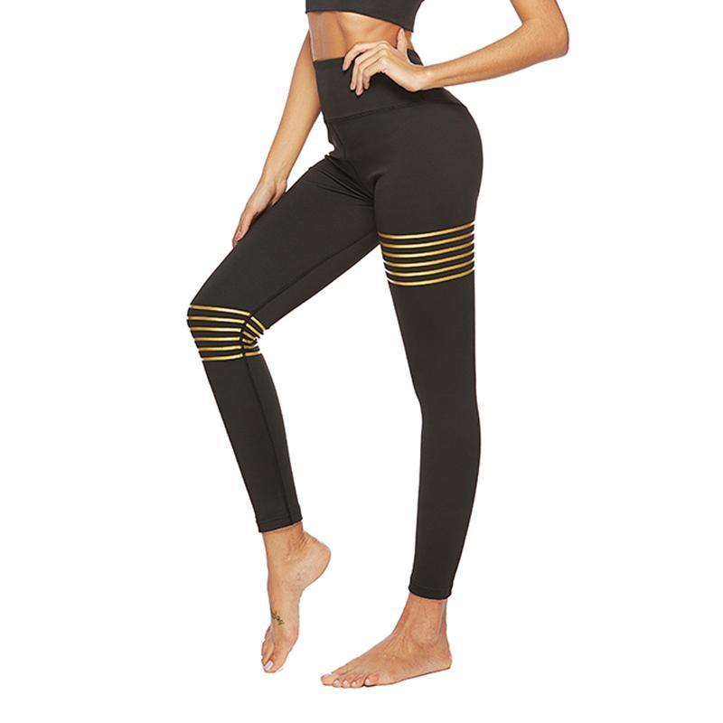 Yogahosen Neue Fitness Hosen Hohe Elastische Yoga Hosen Laufen Sport Leggins Frauen Hohe Taille Dünne Yoga Leggings Training Jogging