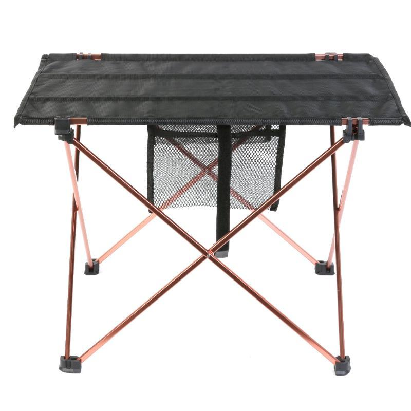 2018 Ortable Folding Camping Chair Aluminum Alloy Oxford Cloth Outdoor Ultralight Portable Table Picnic Barbecu