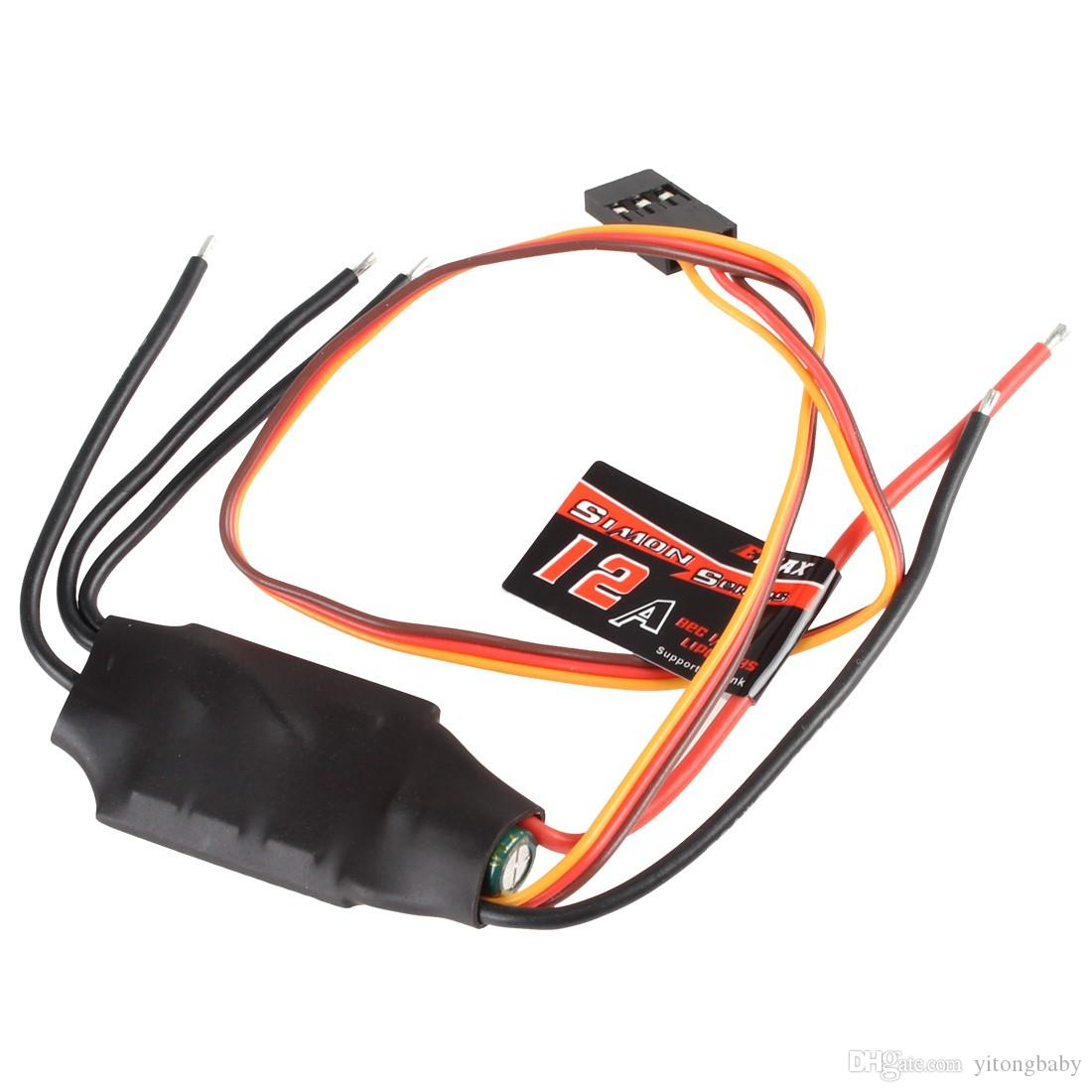 2018 Emax 12a Simon Rc Brushless Esc Electronic Governor Supports 1 Wiring 3s Small Axis Aircraft From Yitongbaby 654