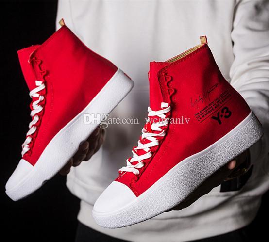 Y-3 Chaussures De Sport - Rouge Bashyo 62ZO0PxBlc