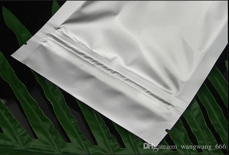 High Quality Aluminum Foil Ziplock Bag Stand Up Zipper Lock Food Savers Retail Packaging Bag Beans Storage Bag