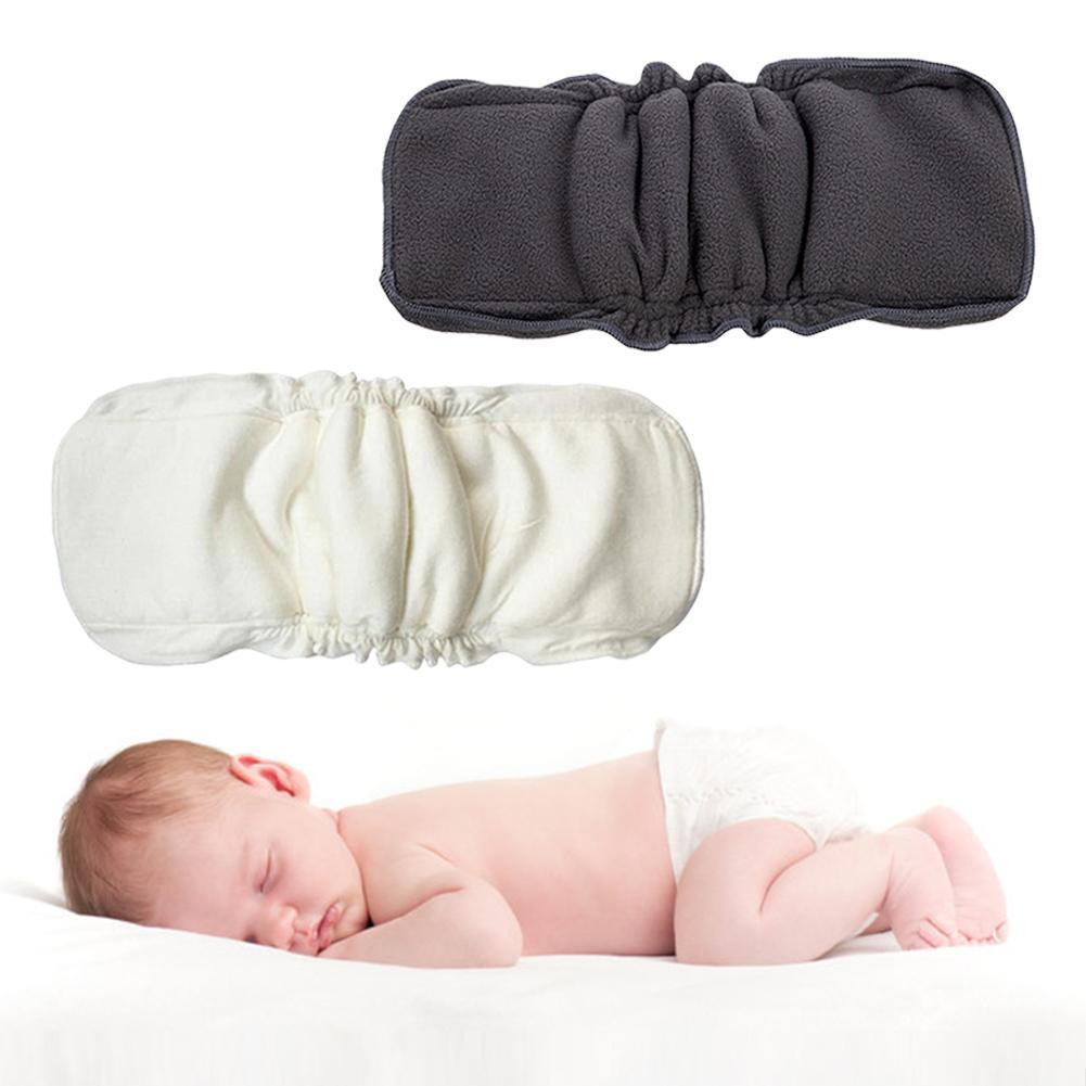 1pc Reusable 4 5 Layers Toddler Baby Bamboo Diapers Inserts Nappy Changing Mat