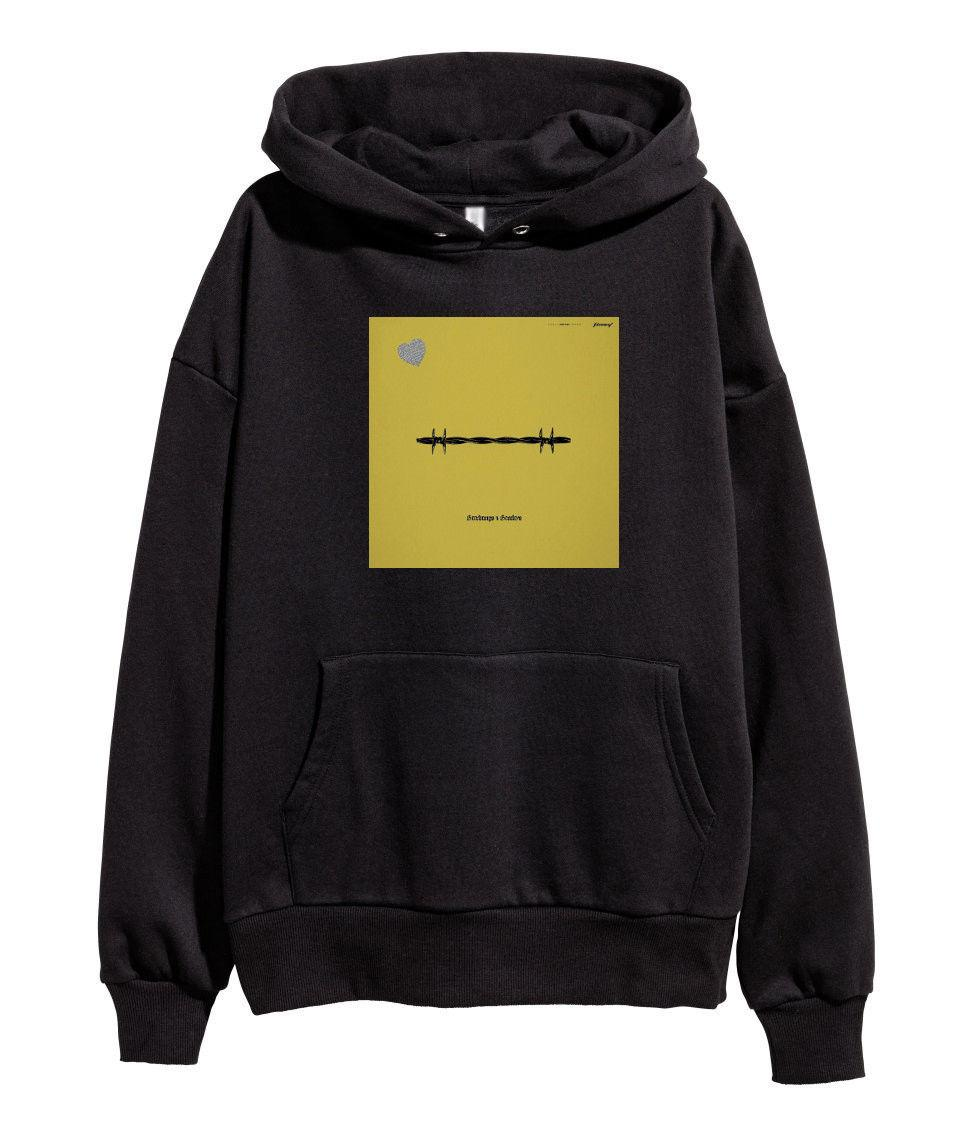Post Malone Beerbongs and Bentleys Hoodie Hip Hop Rap Hooded merch Stoney  Black