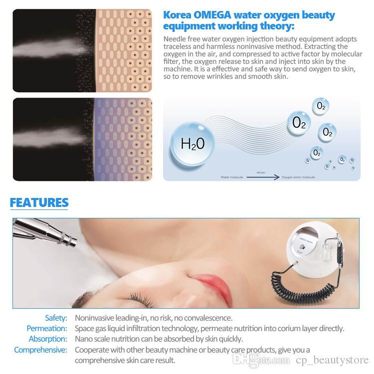 Portable Oxygen Spray Gun Beauty Facial Machines for Skin Care