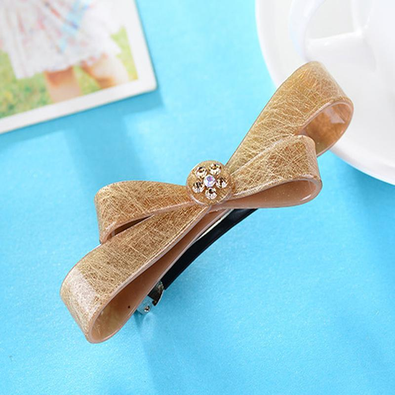 New Arrival Bow Hair Accessories for Women Cellulose Acetate Hair Spring  Clip Cheap French Barrettes Butterfly Hairpins Tiara Online with   6.13 Piece on ... 65dd4e30e92d