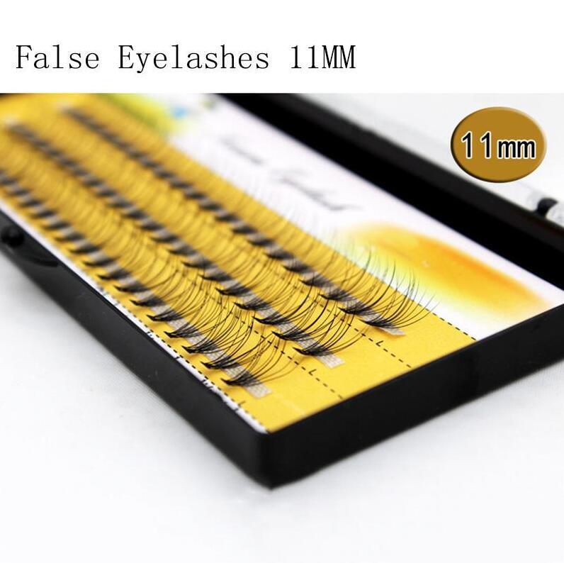 Natural Long Black Individual Grafting False Eyelashes Eye Lash Extension Makeup Tool 60 Knots 6 8 9 10 11 12 13 14MM Available