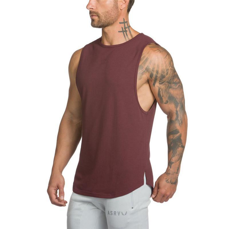 18fbc008bbec23 2019 2018 Golds Gyms Brand Singlet Canotte Bodybuilding Stringer Tank Top  Men Fitness T Shirt Muscle Guys Sleeveless Vest Tanktop From Netecool