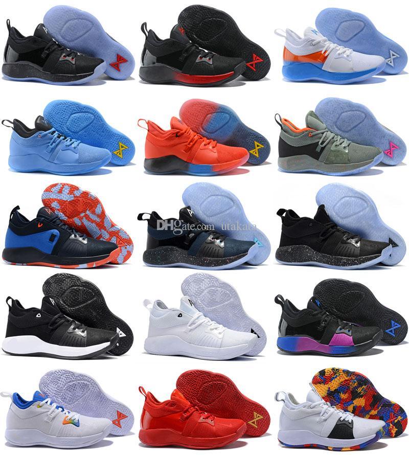 4107f1aeb2c Compre Envío Gratis Athletic PG 2 Playstation Zapatos De Baloncesto Paul  George Zapatillas De Deporte Tamaño 40 46 A  52.49 Del Utakata