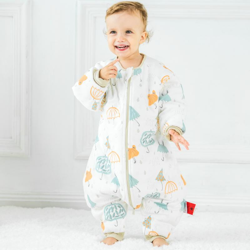 6d63683840 Baby Sleeping Bags For Winter Thick Cute Jumpsuit For Children Catroon  Pattern Sleep Sack Kids Cotton Soft Baby Pajamas Best Affordable Sleeping  Bags ...
