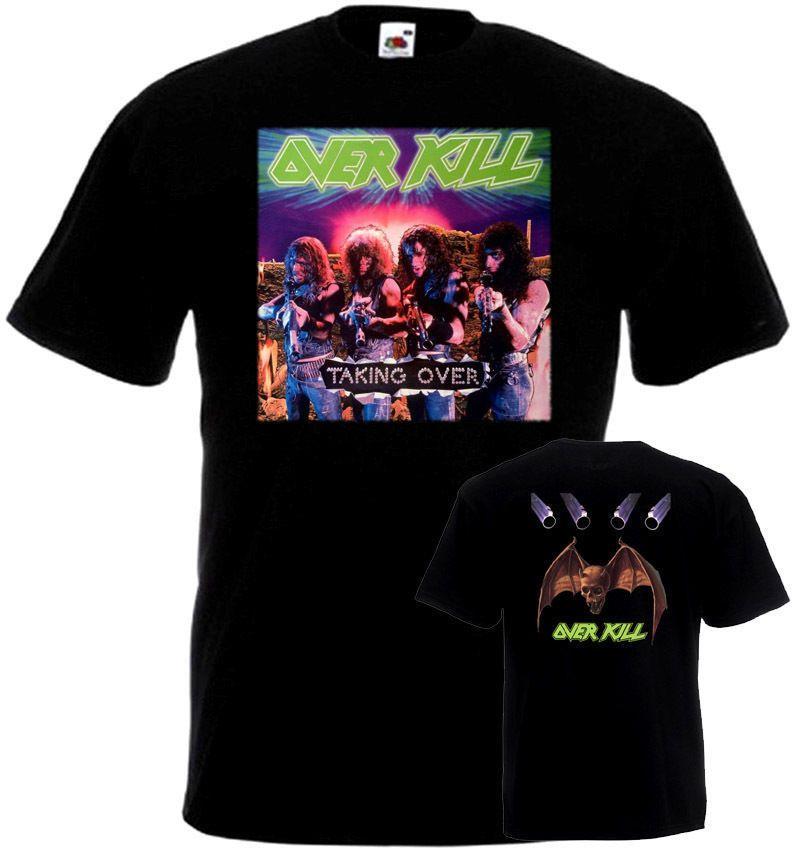 c3b2189dd Overkill Taking Over T-shirt Black Poster All Sizes S...5XL PCrew ...