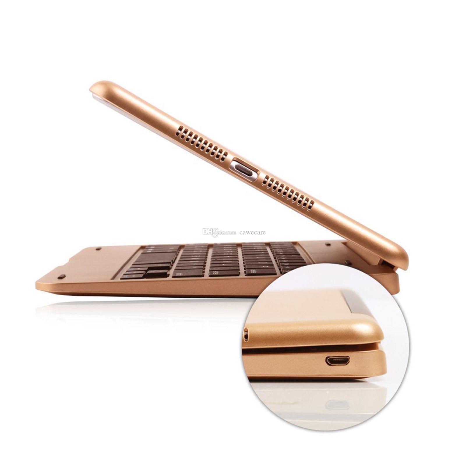غطاء لوحة مفاتيح بلوتوث 3.0 لاسلكية قابلة للطي حامل لسادة ميني 3/2/1 C081 متعدد الألوان الخيارات ABS