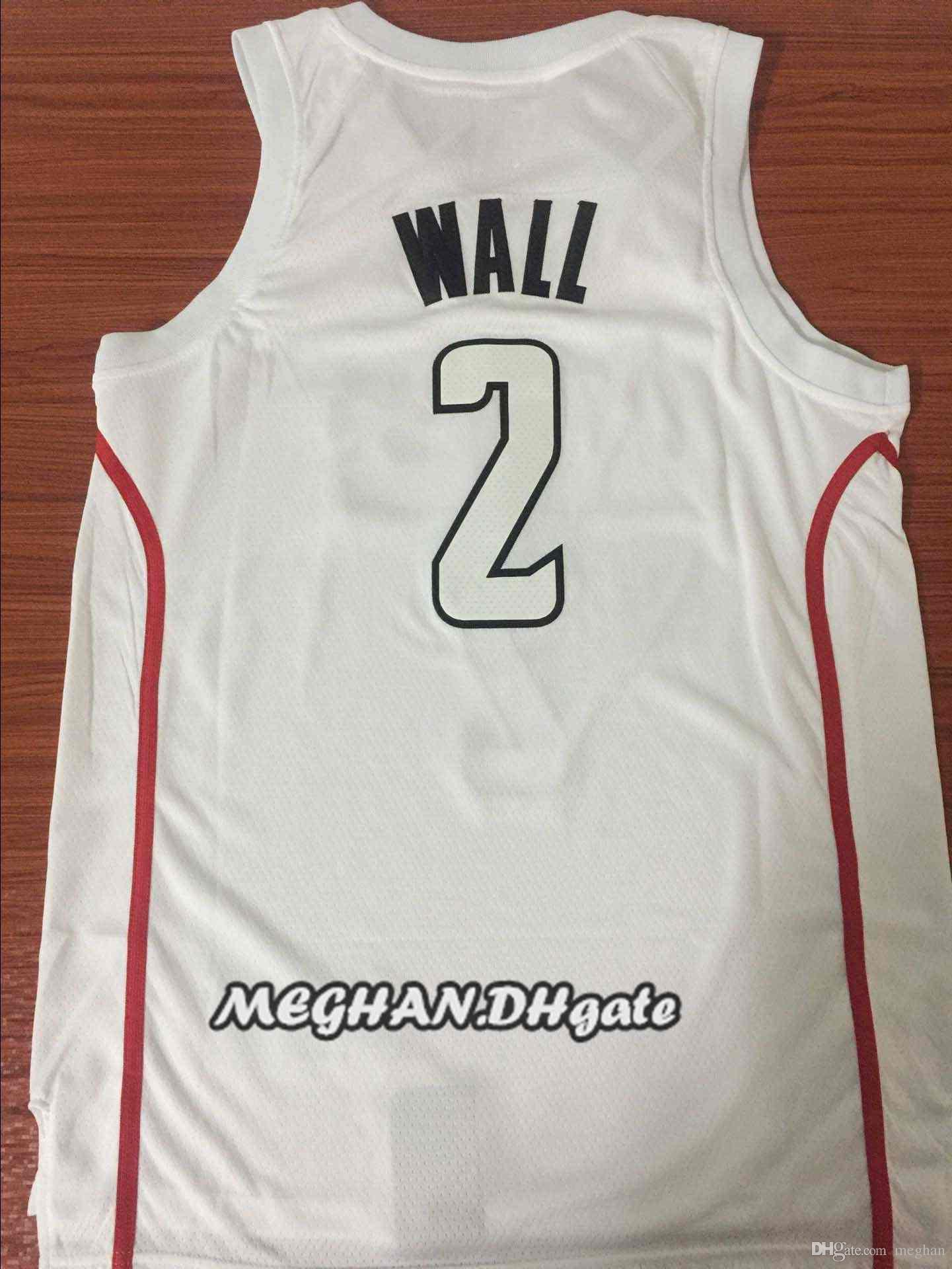 6574f8804 Hot Sale John Wall 2018 New Season CITY EDITION Jersey 2 John Wall ...