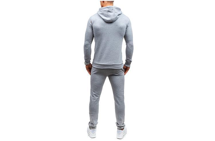Erkek Giyim Tracksuits Spor Kapüşonlular Jogger Pantolon Kapşonlu Mektupları Baskılı Kazaklar Casual uzun pantolon 2adet Giyim Suits ayarlar