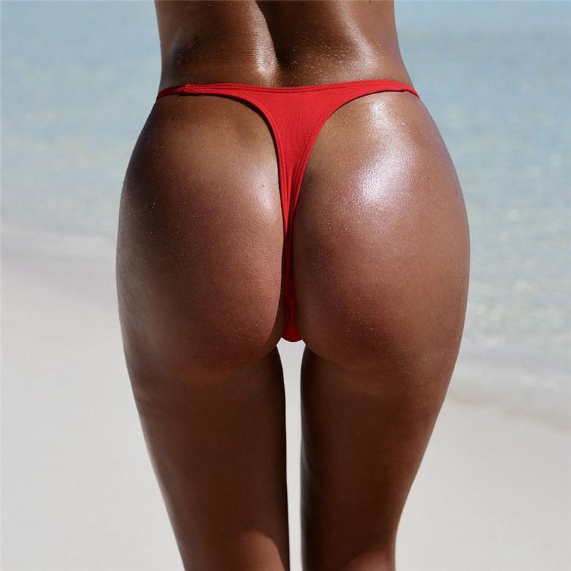 1472f8b7e2a 2019 Sexy Womens G String Brazilian Thongs Swimwear Sexy Hot Beach Wear  Summer Swimsuit Bottom Swimsuit From Red2015, $29.22 | DHgate.Com
