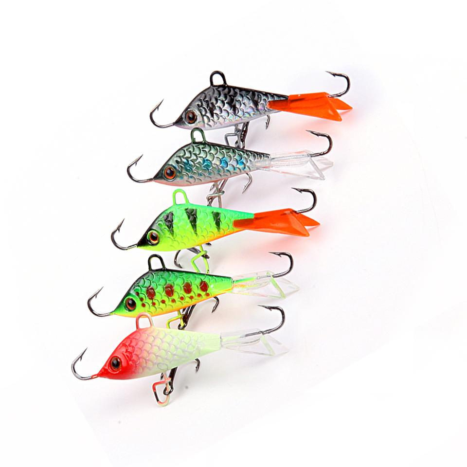 Artificial Bait lure Balancer for Carp Walleye Pike Perch 5cm 7 5g Jigging  Lure Ice Fishing Jig Head Winter Ice bait