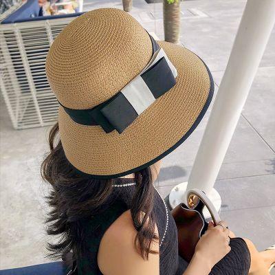 2018 Women s Fashion New Sun Grass Hat Pure Color Casual Summer ... 3b34f1787c45