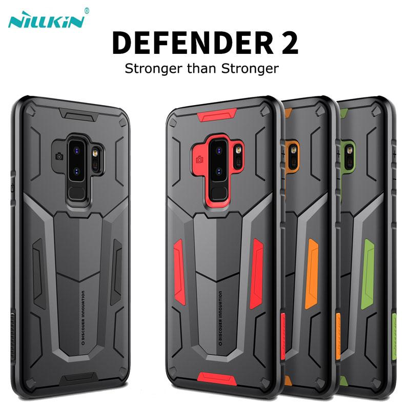 sports shoes cac8c 707dd For Samsung galaxy S9 S9 S9 Plus Note 9 case Nillkin Defender2 Impact  Hybrid Armor case for galaxy Note 8 S8 S8