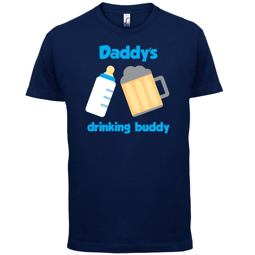 daddy s drinking buddy mens t shirt dad cook chef son nerd t