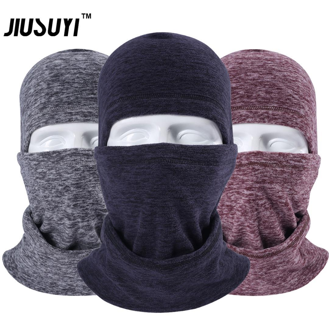 2019 Winter Neck Warmer Fleece Wool Thermal Balaclava Neck Gaiter Full Face  Mask Snowboard Beanies Hats Protection For Cold Weather From Pothos ca8ad9ecf72