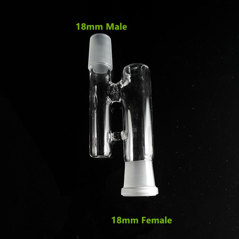 Glass Reclaim adapter Male/Female 14mm 18mm Joint Ash Catcher for Oil Rigs Glass Bong Water Pipes