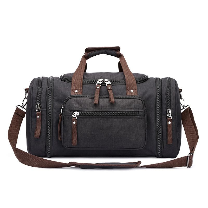 06a41ed04687 Canvas Men Travel Bags Carry on Luggage Bag Men Duffel Bags Travel ...