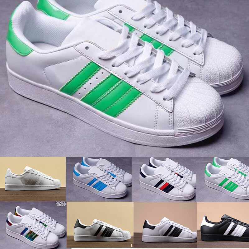 online store 066ae bd157 NEW Hot Cheap Superstar 80S Men Women Casual Skate Shoes Rainbow Splash-ink  Fashion casual Shoes size eur 36-45
