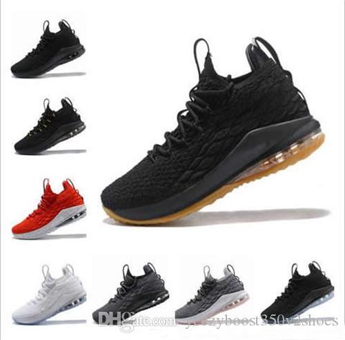 70c66032e563 2018 Designer Shoes 15 Xv Low EQUALITY Black White Basketball Shoes ...