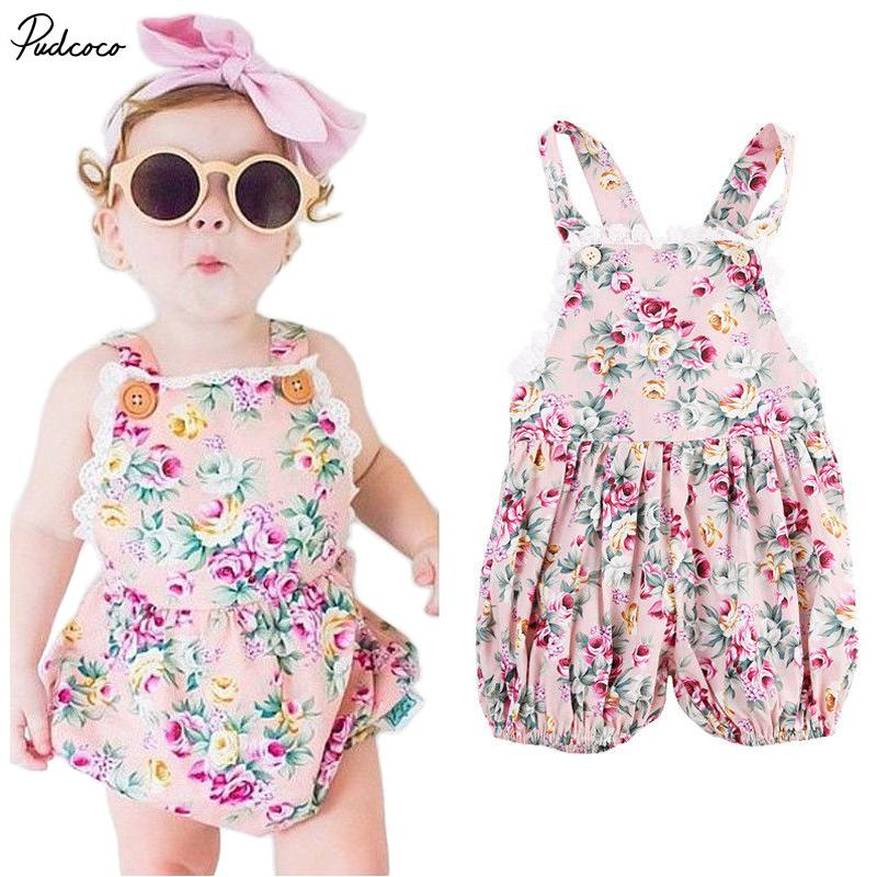 0bbc1d8fbadc 2019 2017 NEW ARRIVAL Infant Kids Rompers Toddler Baby Girl Clothing ...