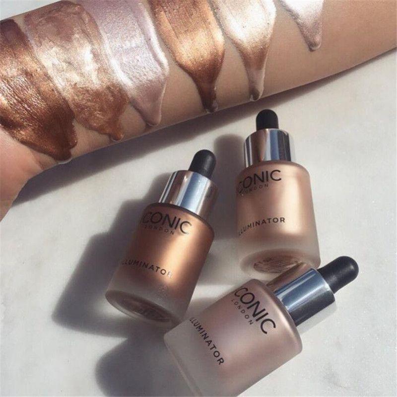 Iconic London illuminator Liquid Highlighter Makeup Bronzer Brighten Foundation Glow Shine Original Cosmetics Face Make up 13.5ML